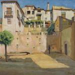 «Guadix», 1909, Edouard Morerod, peintre
