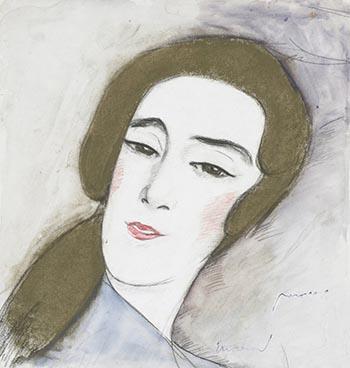La Dame admirable IV, (1918), Edouard Morerod, peintre