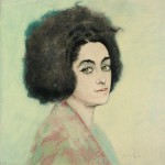 La poétesse Armen Ohanian, 1918, Edouard Morerod, peintre