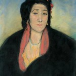 Pastora au châle, 1909, pastel. Coll. privée