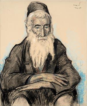 Tanger – Juif marocain, 1911, Edouard Morerod, peintre
