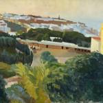 Tanger – La citadelle, (1911), Edouard Morerod, peintre
